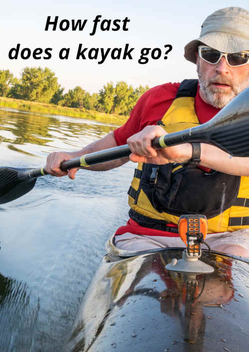 how fast does a kayak go?