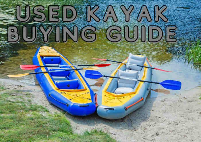 used kayak buying guide