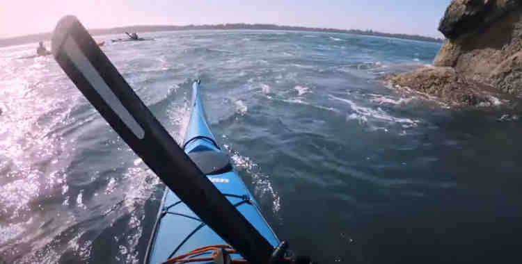 how far can you paddle in a sea kayak